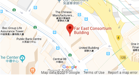 Map of Hong Kong Office